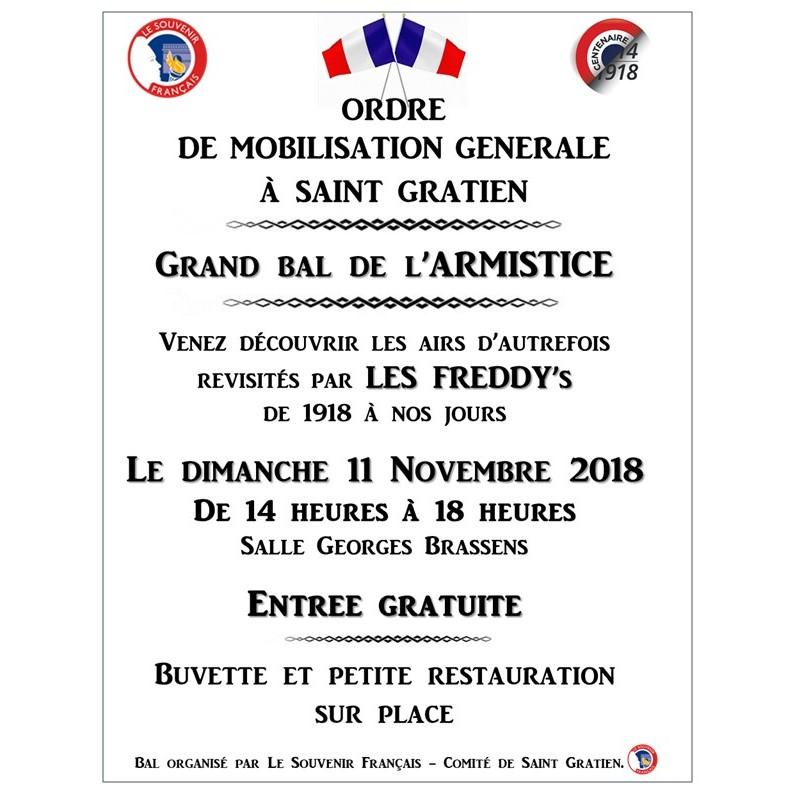 Bal de l'armistice à Saint-Gratien