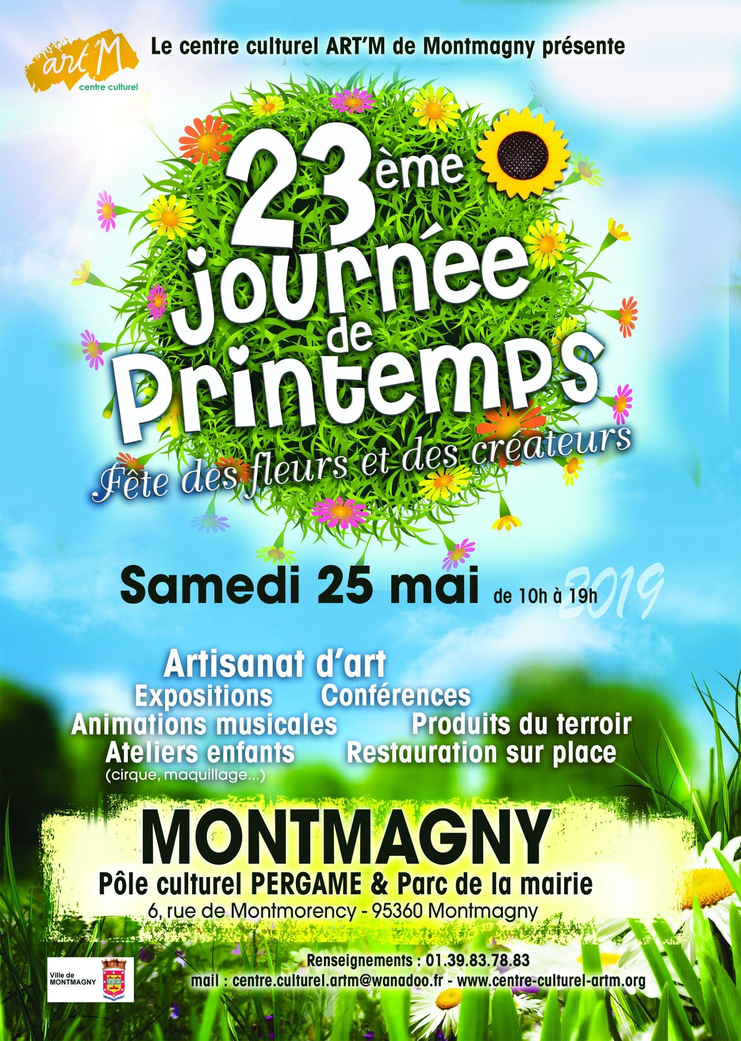 23e journée de printemps à Montmorency