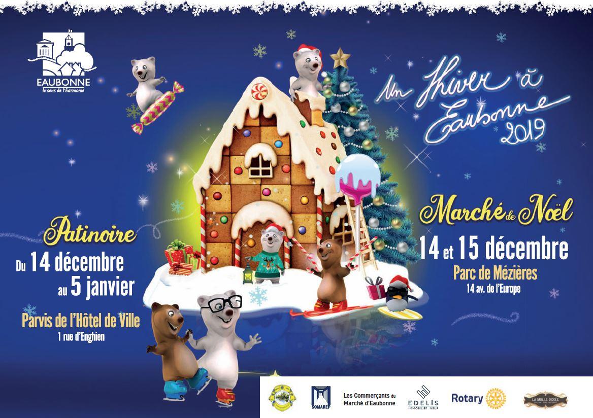 Marché de Noël 2019 à Eaubonne