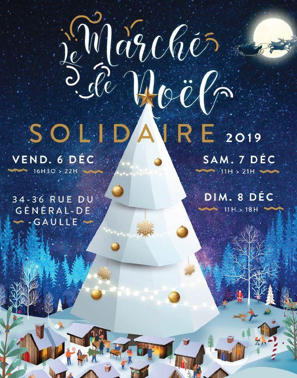Marché de Noël solidaire à Enghien