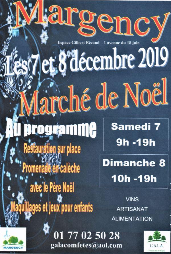 Marché de Noël à Margency - 2019
