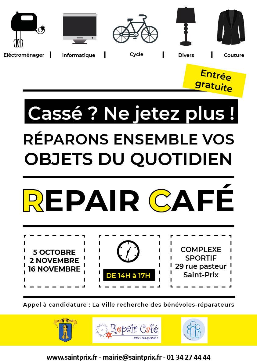 Repair Café à Saint-Prix