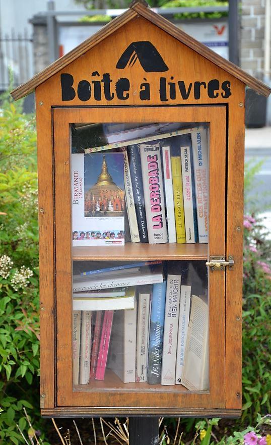 Boite à livres à Deuil-la-Barre