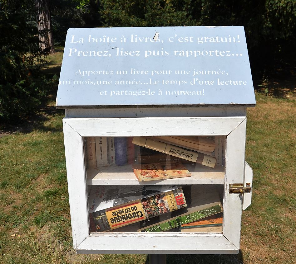 Boite à livres à Montmorency