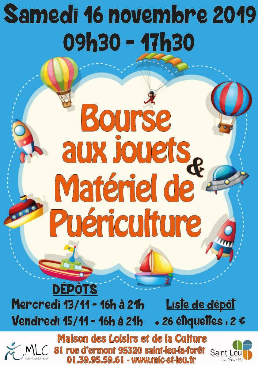 Bourse aux jouets de Saint-Leu - 16 novembre 2019