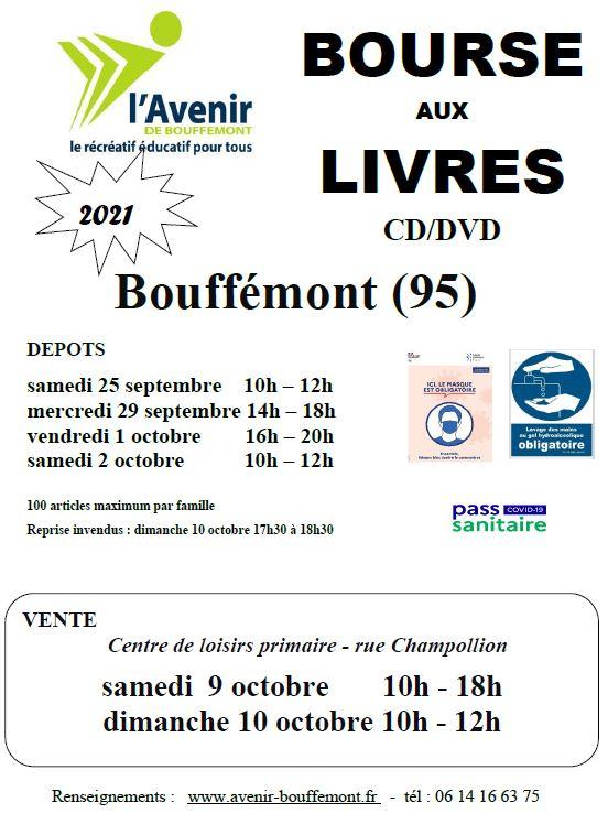Bourse aux livres à Bouffémont - 2021