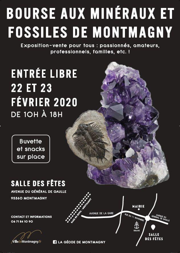Bourse aux minéraux et fossiles de Montmagny