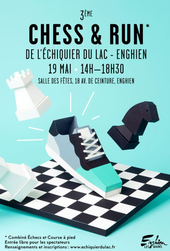 3ème CHESS & RUN à Enghien - 19 mai 2018