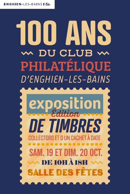 100 ans du Club philatélique d'Enghien