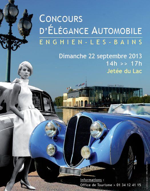 Concours d 39 l gance de voitures anciennes enghien le 22 septembre 2013 - Maubuisson office de tourisme ...