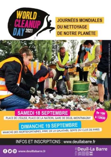 World Clean Up Deuil-la-Barre