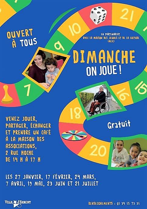 DIMANCHE ON JOUE à Ermont