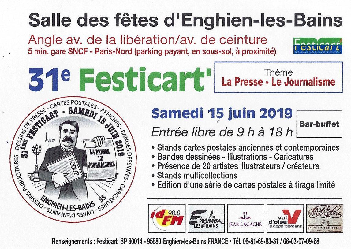 FESTICART 2019 - ENGHIEN - 15 JUIN 2019