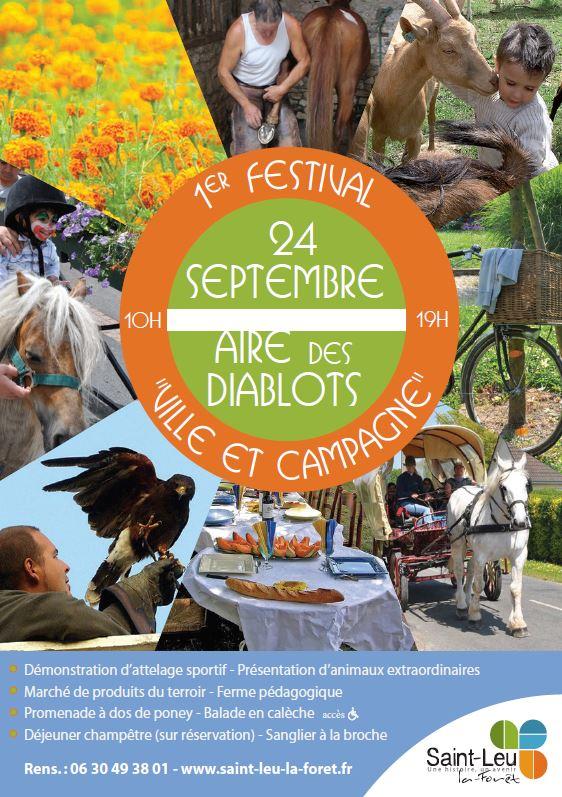 1er festival ville et campagne saint leu la for t 24 for Piscine saint leu la foret