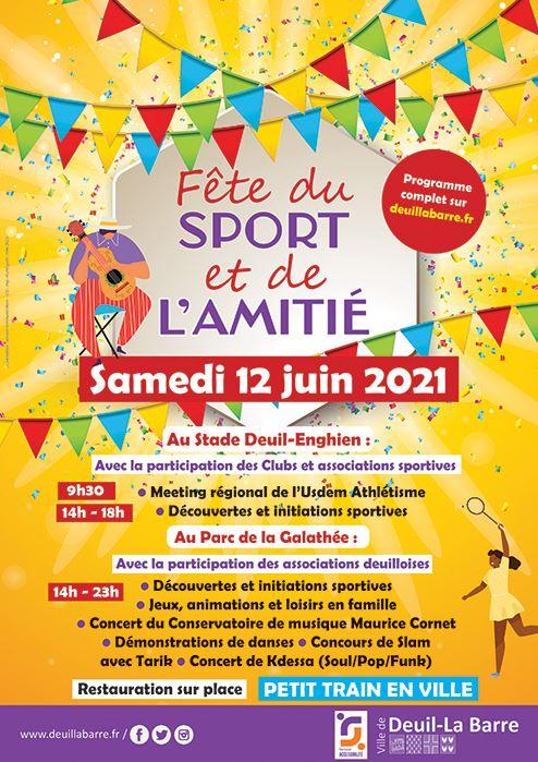 Fête du Sport et de l'Amitié - Deuil-la-Barre