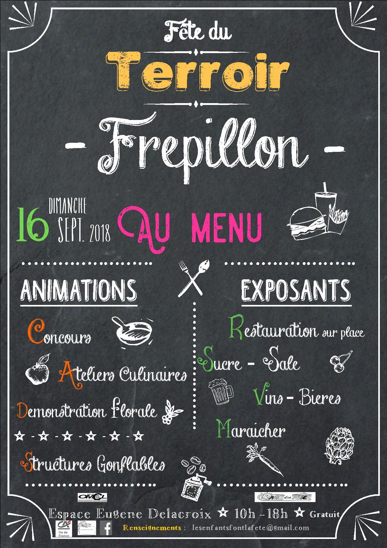 Fête du terroir à Frépillon le 16 septembre 2018