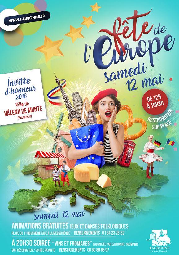 Fête de l'Europe à Eaubonne - 12 mai 2018