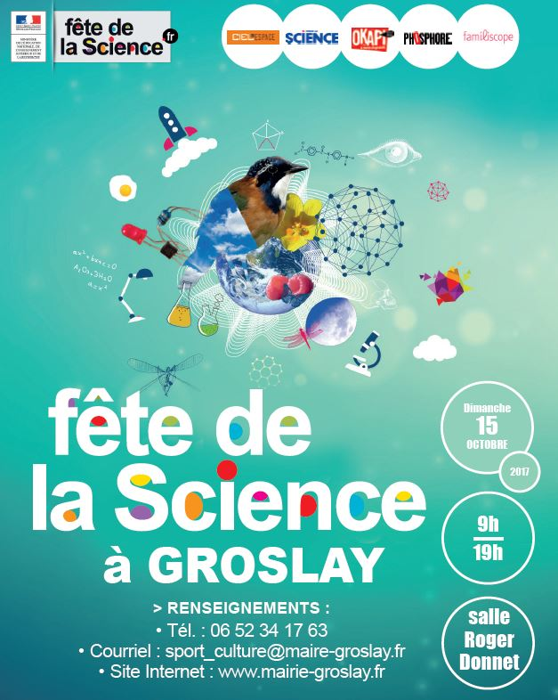 Fête de la science à Groslay en 2017