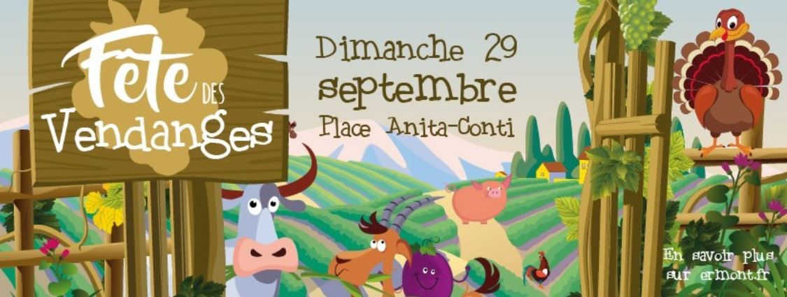 fête des Vendanges - Ermont le 29 septembre 2019