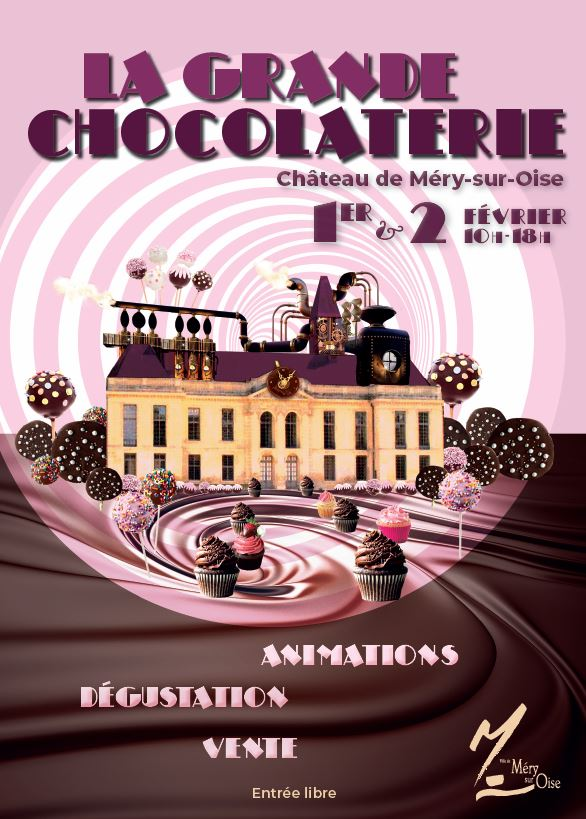 Grande chocolateire au Château de Méry-sur-Oise