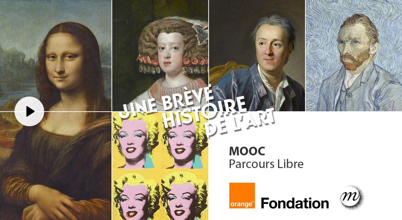 Mooc culturels Fondation Orange
