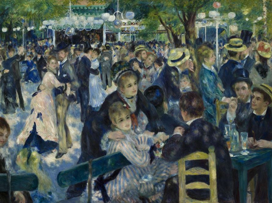 Bal du moulin de la galette de Auguste Renoir