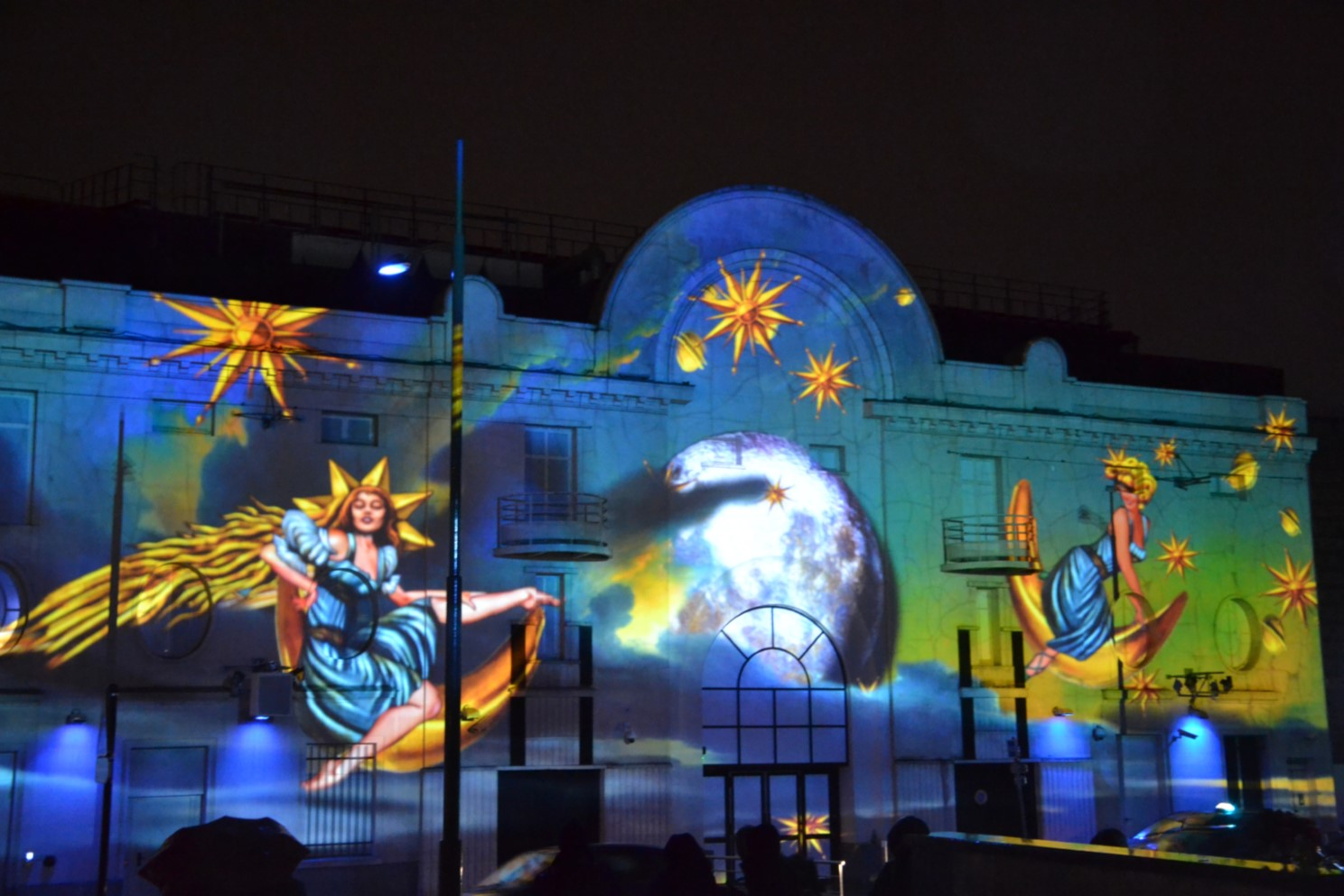 Projections monumentales 2017 - Enghien