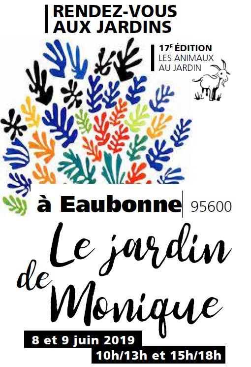 Le Jardin de Monique à Eaubonne