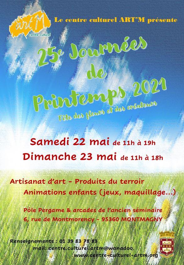 25e journées de printemps Montmagny 2021