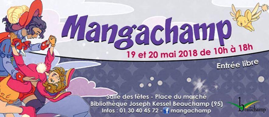 MANGACHAMP 19 et 20 mai 2018