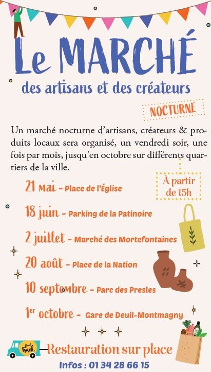 Marché de Deuil-la-Barre