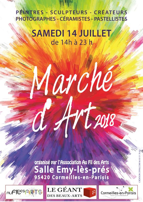 Marché d'Art 2018 à Cormeilles-en-Parisis