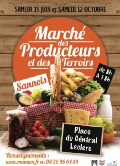 Marché des producteurs et des terroirs à Sannois