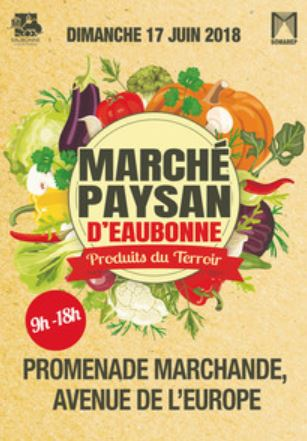 Marché paysan d'Eaubonne - 17 juin 2018