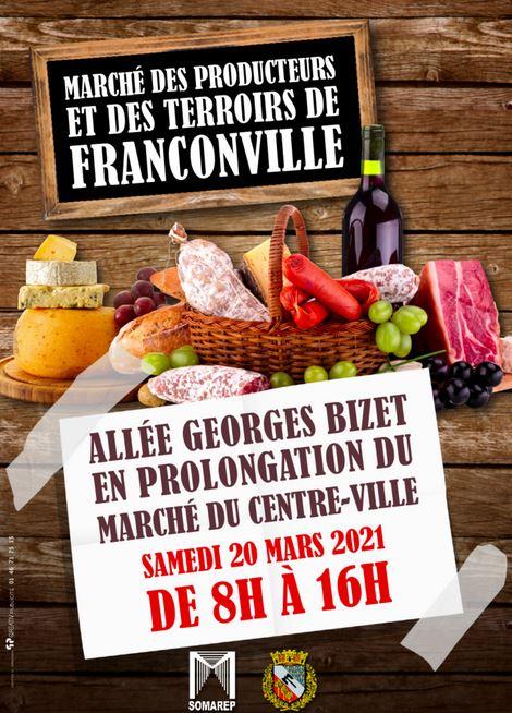 Marché des producteurs et des terroirs de Franconville