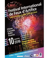 Festival de Feux d'Artifice à l'hippodrome d'Enghien-Soisy le 10 septembre !