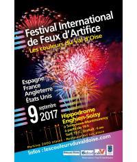 10ème édition du Festival international de Feux d'Artifice à l'hippodrome d'Enghien-Soisy!