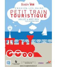 A Enghien, prenez place à bord du petit train touristique pendant tout l'été!