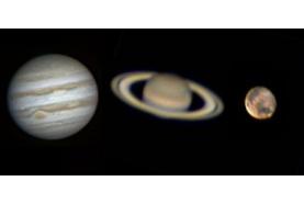 Venez observer les planètes Jupiter et Saturne depuis l'observatoire Cassini de Sannois!