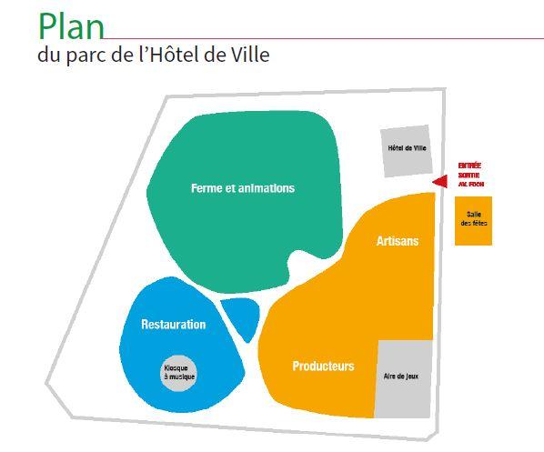 Plan des Naturelles à Montmorency