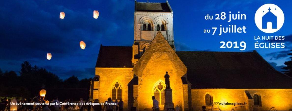 Nuit des églises 2019