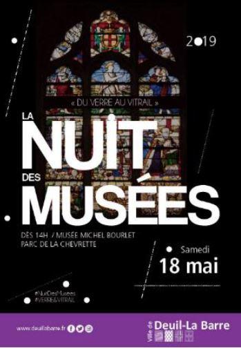 Nuit des musées à Deuil-la-Barre 18 mai 2019
