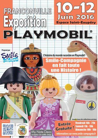 EXPOSITION PLAYMOBIL à FRANCONVILLE