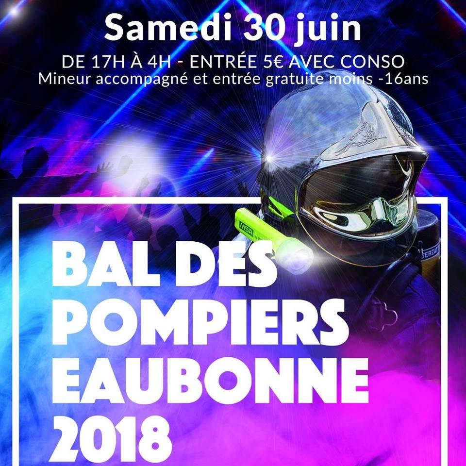 Bal des Pompiers à Eaubonne le 30 juin 2018