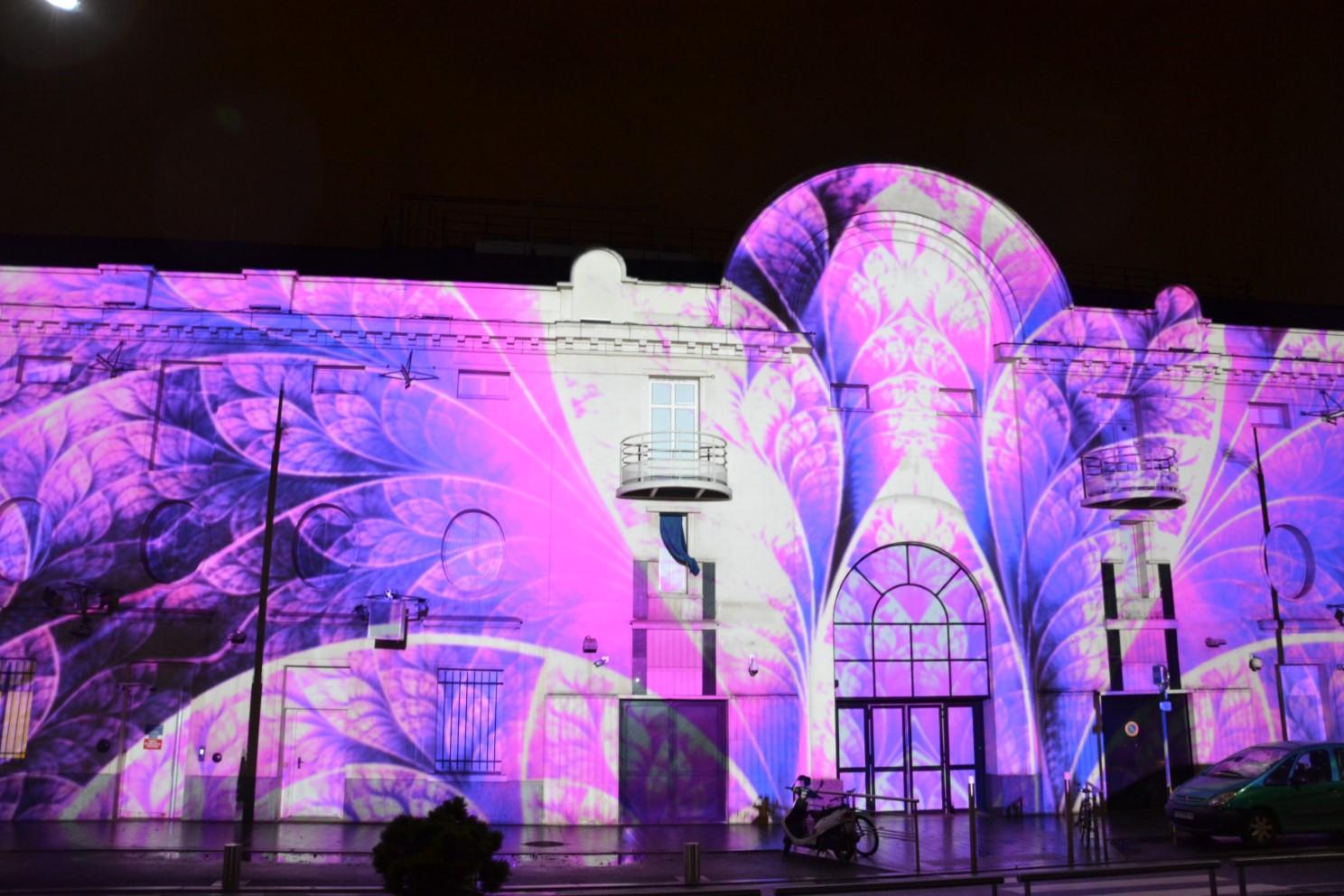 Décembre 2018 - Projections monumentales à Enghien