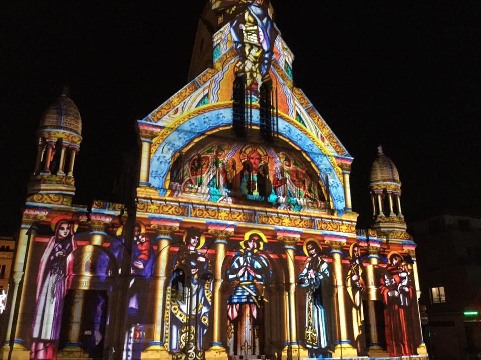 Projections monumentales à Enghien
