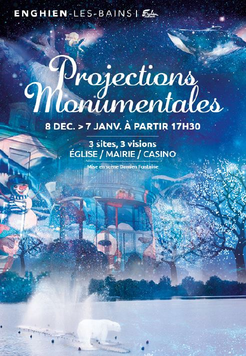 Projections monumentales d'Enghien 2017