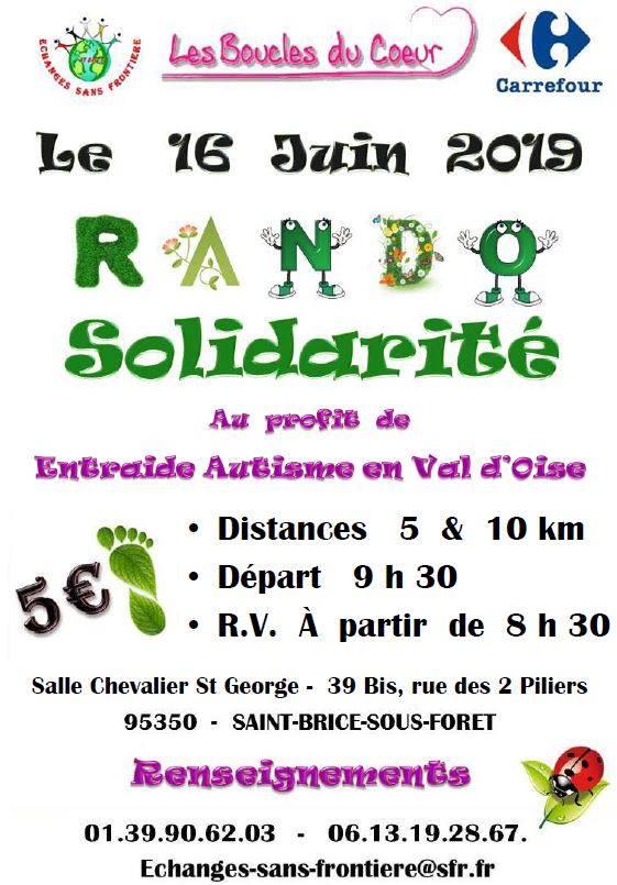 Rando solidarité 16 juin 2019