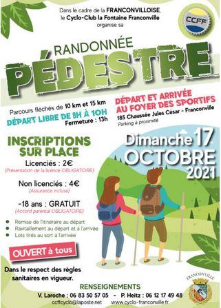 Randonnée pédestre - 17 octobre 2021 - Franconville