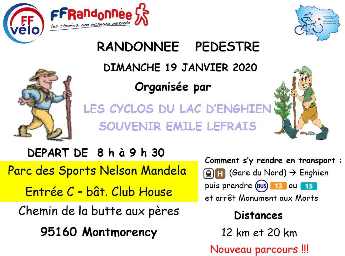 Randonnée à Montmorency